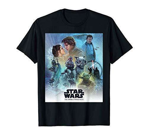 - Star Wars Celebration Mural Empire Strikes Back Logo T-Shirt