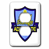 Dooni Designs – Funny Sarcastic Advocate Designs - Cloud Storage Advocate Support Design - Light Switch Covers - 2 plug outlet cover (lsp_242554_6)