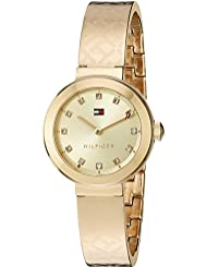 Tommy Hilfiger Womens Quartz Tone and Gold Casual Watch(Model: 1781720)