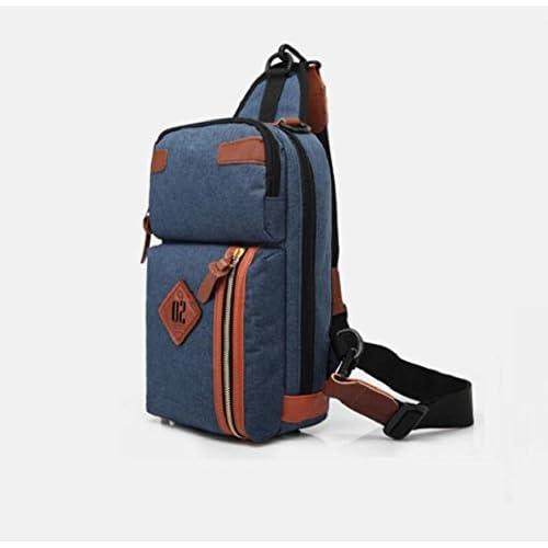 LF&F Mode créatif décontracté épaule sac messager sac de voyage ultra-léger polyvalent école randonnée alpinisme camping hommes et femmes