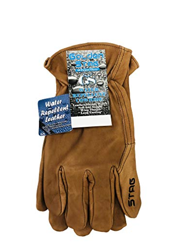 Golden Stag Chocolate Cowhide Glove, X-Large, 277 (Golden Stag Gloves)
