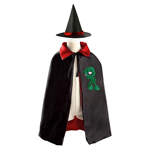 DIY mummy sad Costumes Party Dress Up Cape Reversible with Wizard Witch Hat