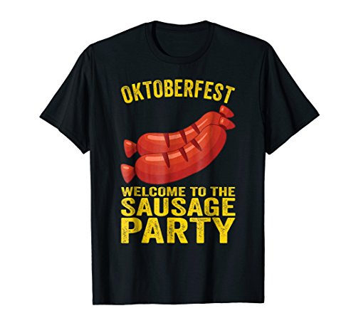 Welcome To The Sausage Party Funny Oktoberfest 2018 T Shirt