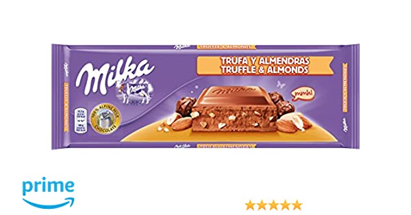 Milka Tableta de Chocolate con Leche, Avellanas y Trufa - 300 g: Amazon.es: Amazon Pantry