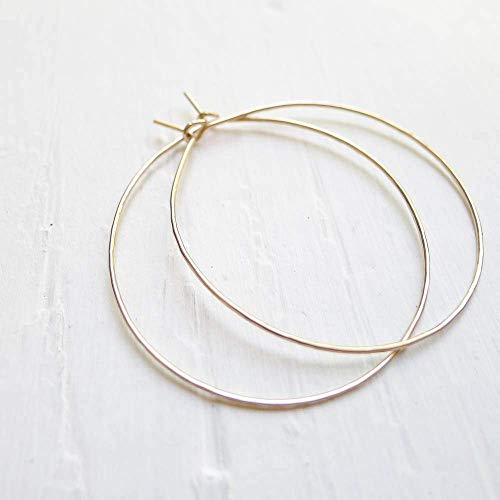 Hammered Gold Filled Wire - Hoop Gold Filled