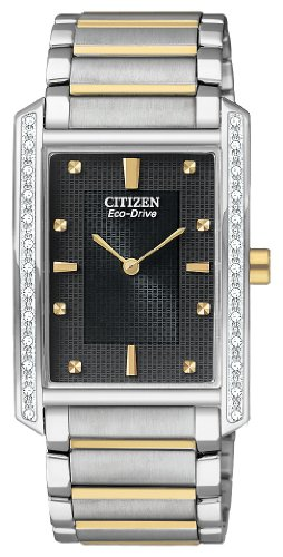 Palidoro Citizen Watch - Citizen Men's BL6064-52E Palidoro Eco-Drive Two Tone Diamond Palidoro Watch
