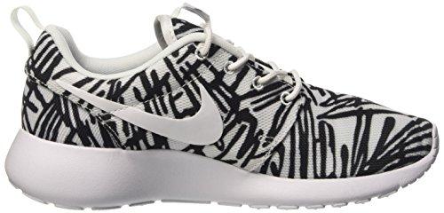 Nike Roshe One Rosheone Print Sneaker Wit / Zwart, Eu Schoenmaat: Eur 35.5