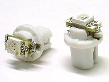 Lampada led t5 b8.5d b8 5d bianco luci cruscotto e: amazon.co.uk