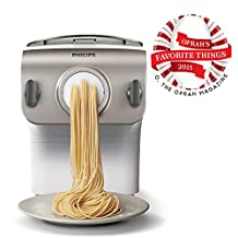 Philips Pasta Maker with 4 shaping discs, HR2357/05
