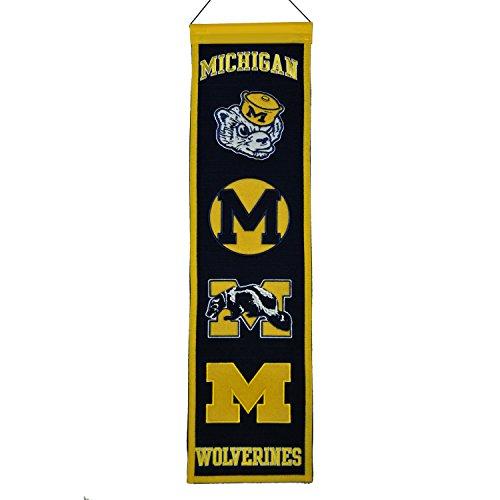 (NCAA Michigan Wolverines Heritage Banner)