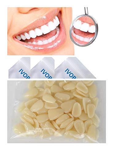 (Dental Componeer Thin Whitening Resin Veneer Upper Anterior Teeth 100-Pcs (A2 shade))