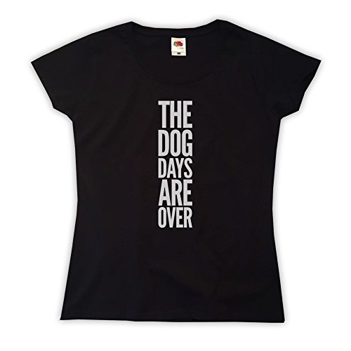 Outsider.... The Dog Days Are Over T-Shirt da Donna Nera
