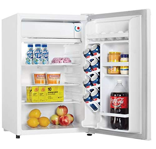 Energy Star Free Standing Compact Refrigerator with Freezer and CanStor Ft Danby DCR044A2WDD-3 21 Inch Wide 4.4 Cu