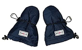 Stonz Mittz The Canada Mittens - Cold Weather Gloves and Baby Mittens - Navy (0-12 Months)
