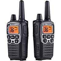 Midland Consumer Radio T77VP5 X-Talker 36 Channel GMRS up to 38 Mile Range with Weather Alert & 121 Codes Includes a Carrying Case & Headsets