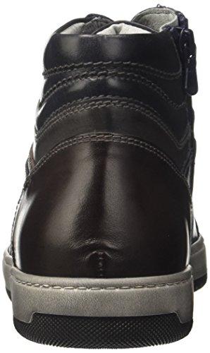 Sneaker Uomo Nero Blu Alta A705352u Blu Giardini kenia 1EcEP