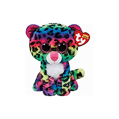 "Holland Plastics Original Brand TY Beanie Boos 6"" Dotty Leopard, Perfect Plush!: Toys & Games"