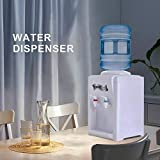 KUPPET Countertop Water Cooler Dispenser-3-5 Gallon Hot & Cold Water, ideal For Home Office