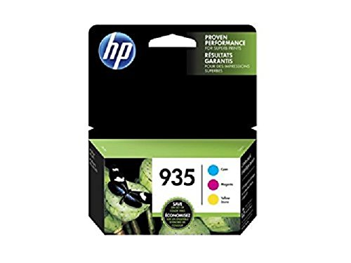 Pro Magenta Ink - HP 935 Cyan, Magenta & Yellow Original Ink Cartridges, 3 Cartridges (C2P20AN, C2P21A, C2P22AN) for HP Officejet 6812 6815 HP Officejet Pro 6230 6830 6835