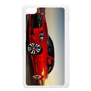 iPod Touch 4 Case White Dodge Qjip