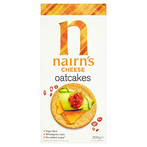 Nairn's Cheese Oatcakes , 7.1-Ounce Boxes (Pack of 6) ()