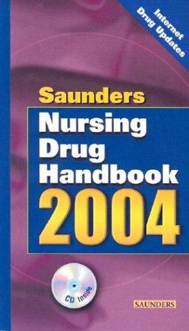 Saunders Nursing Drug Handbook 2004