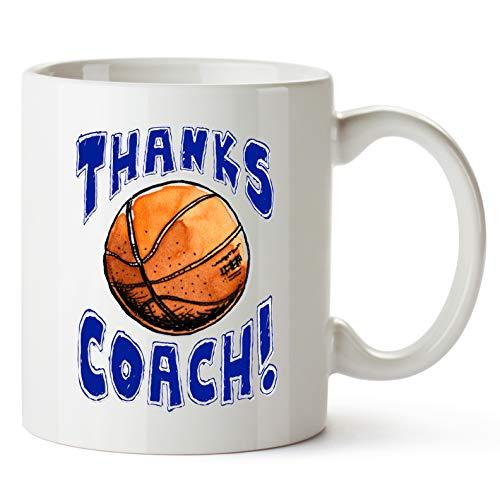 Play Strong MUG Basketball -Thanks BASKETBALL Coach! Sports GIFT MUG Awesome team sports gift - your COACHES will love em! Play Strong Thanks Coach! #AllProfitsToHelpKids