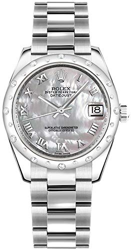 - Rolex Lady-Datejust 31 178344 Mother of Pearl Dial Diamond Women's Watch