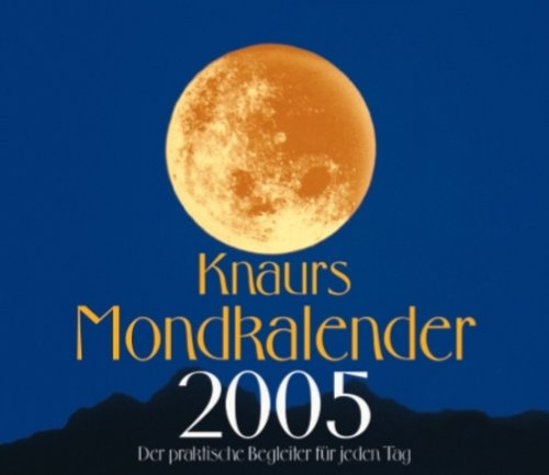 Knaurs Mondkalender, Abreißkalender 2009