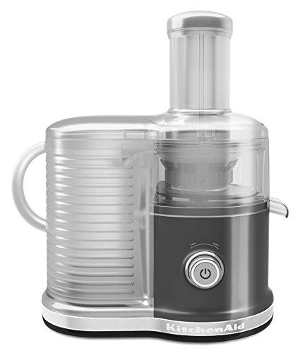 KitchenAid KVJ0333QG Easy Clean Juicer, Liquid Graphite
