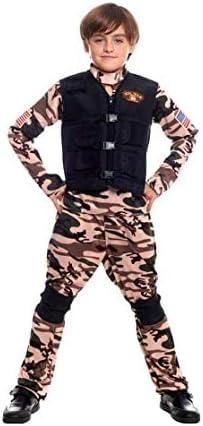 Disfraz Soldado Militar Fuerzas Especiales Niño para Carnaval ...