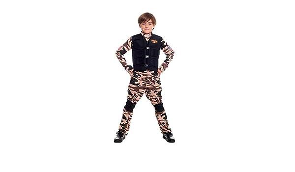 Disfraz Soldado Militar Fuerzas Especiales Niño para ...