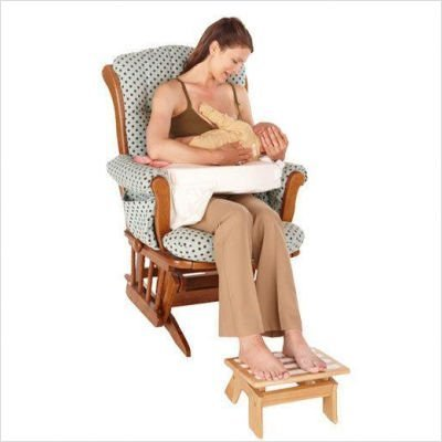 My Brest Friend Adjustable Nursing Stool, Wood Jubujub