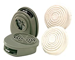 Safety Works 817666 Replacement Cartridges and Pre-Filters for Paint and Pesticide Respirator