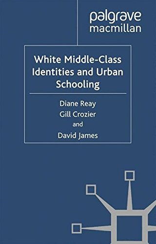 White Middle-Class Identities and Urban Schooling (Identity Studies in the Social Sciences)