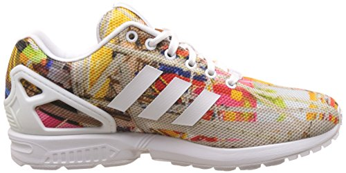 adidas Herren ZX Flux Low-Top Weiß