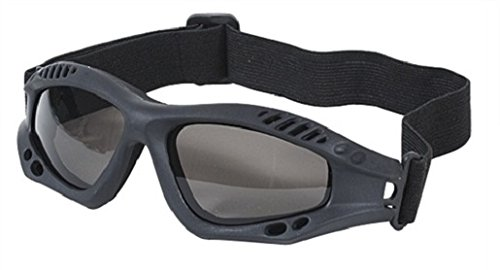 VooDoo Tactical 02-8832001000 Sportac Goggle Glasses with G-15 Lens, Black Frame by VooDoo Tactical