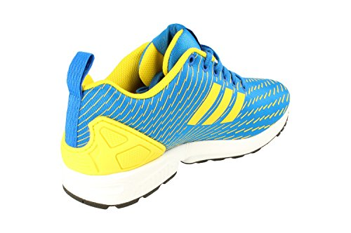 Royal Yellow adidas para Flux Blue Zapatillas Zx hombre Originals Aq4531 vxqOwCx14