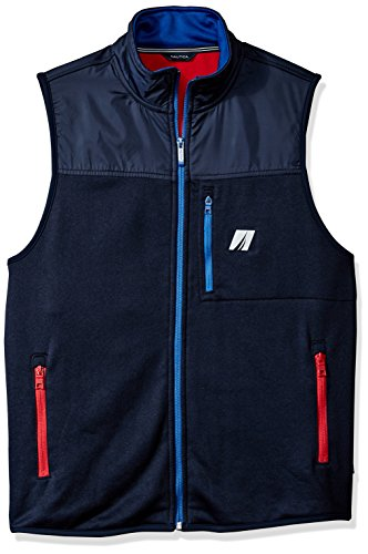 Nautica Men's Mix Media Tech Vest