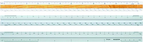 "Woodrow 12"" Architectural Triangular Scale Ruler"