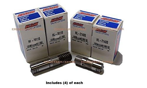 Elgin Industries (Elgin, IL. USA) 1/2-Set Chevy GMC 5.3 5.3L 6.0 6.0L Active Fuel Management AFM Valve Lifter (4) AFM DOD & (4) Standard Lifters