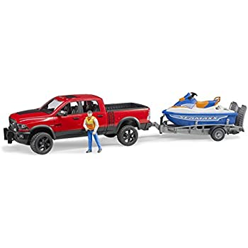 tonka off road adventure set pick up truck with matching jet ski assorted styles. Black Bedroom Furniture Sets. Home Design Ideas