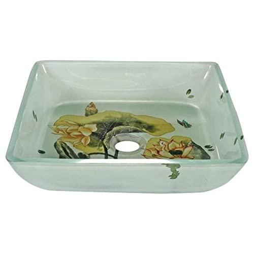 Legion Furniture ZA-132 Lotus Pad Sink With Matching Chrome Pop-Up Drain and Mounting Ring well-wreapped