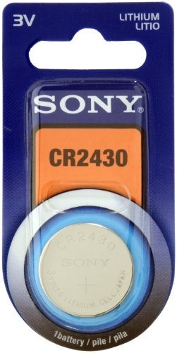 Price comparison product image Sony CR2430 Battery