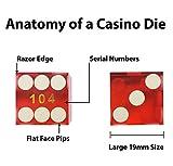 NANSUAO Casino Dice Grade AAA with Razor Sharp