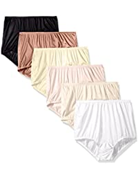 Women's 6 Pack Perfectly Yours Ravissant Tailored Brief Panty 15113