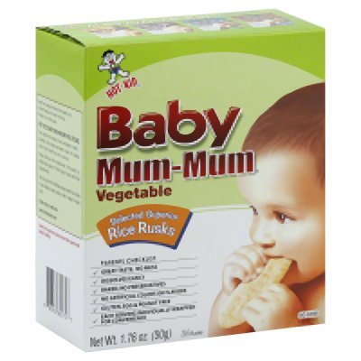Mum Mum Rice Biscuits - Vegetable - 1.76 oz