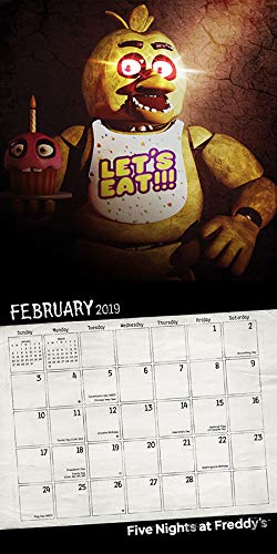 Amazon.com: Five Nights at Freddys Calendar 2019 Set ...
