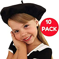 Picki Nicki Beret Party Hats, Bulk Lot of 10