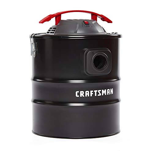 CRAFTSMAN CMXEVBE17585 5 gallon 3 Peak Hp Ash Vacuum with Attachments (Stoves Pellet For Vacuum Ash)
